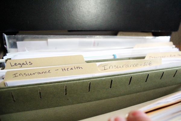Papers can be the easiest and most difficult clutter to sort through. Learn now to organize paper clutter once and for all with my simple file cabinet system.