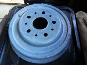 Rear drum single coat