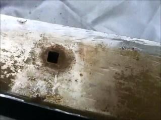 bumper bolt hole