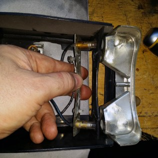 removing the bulb plate