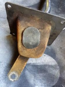 66 Mustang gear shift
