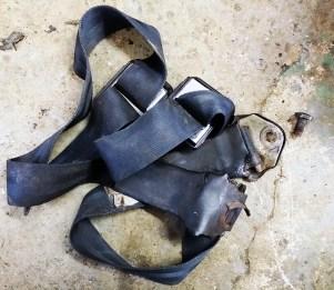 old seat belts