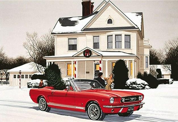 Mustang Xmas