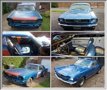 Classic 1966 Mustang Restoration