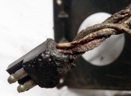 loom plug melted