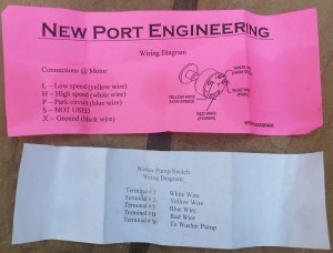New Port Engineering 2 Speed Wiper Motor | One Man And His