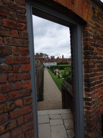 Hampton Court doorway