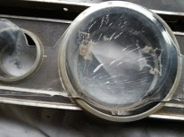 cracked plastic lens shown