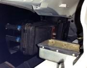 inside heater box