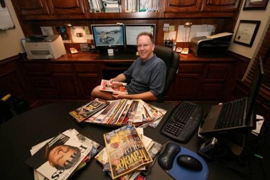 John P. at Work