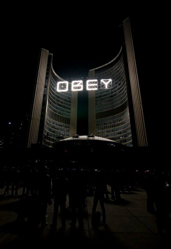 City Hall OBEY
