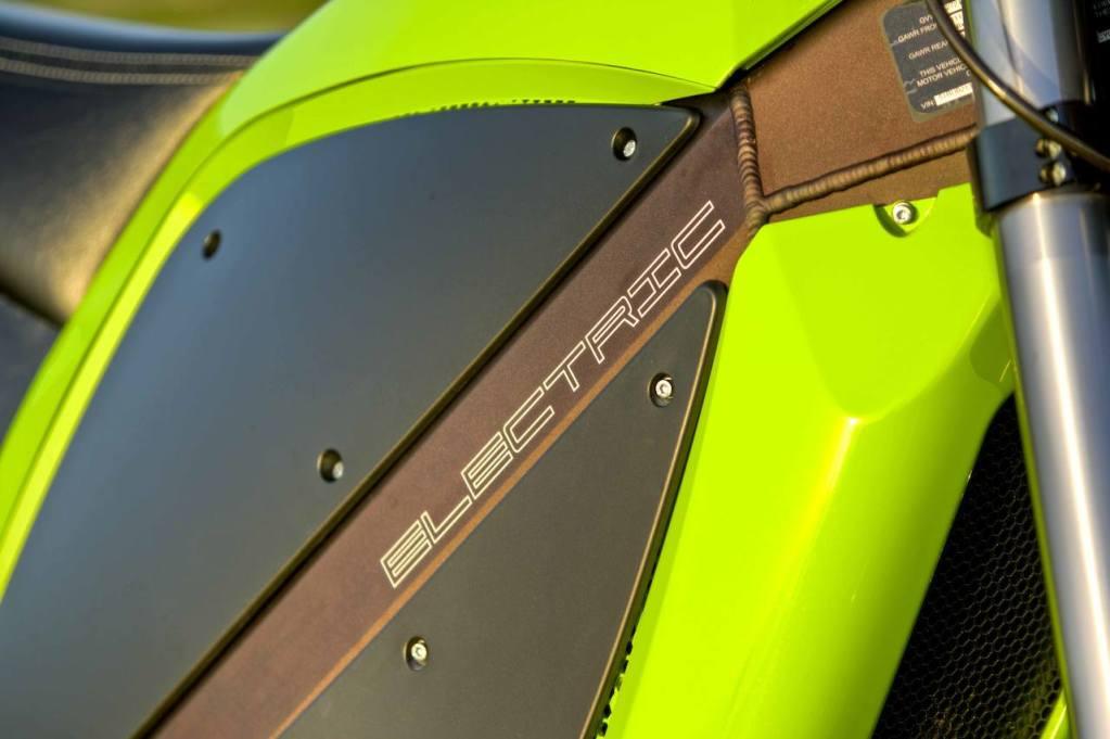 The Brammo Electric Bike