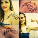 Woman Violin Player's Tattoo