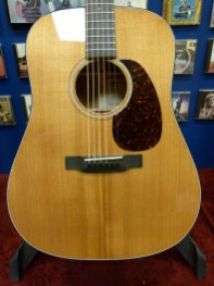 Martin D-18 Sycamore torrefied Sikta spruce top review at onemanz.com