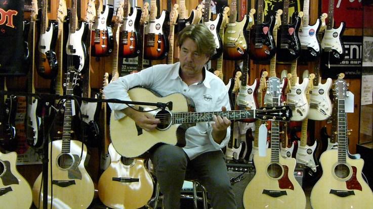 Wayne Johnson making music