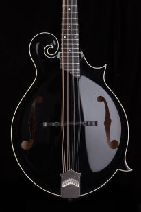Collings mandolin black Collings 01 Mh 12-fret NAMM 2017 One Man's Guitar onemanz