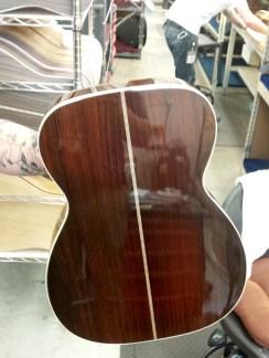 Martin 000-42 conversion back at factory