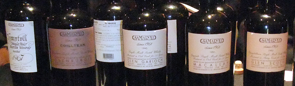 Samaroli Vintages at Whiskyfest 2013
