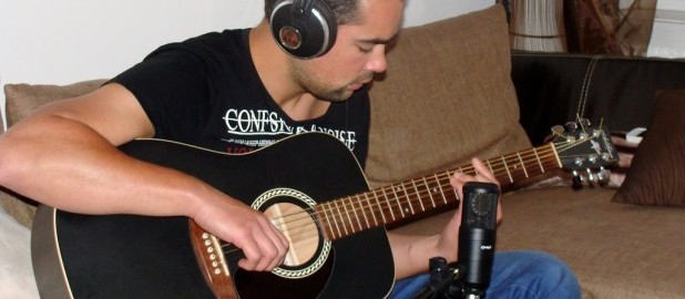 Enregistrer la guitare acoustique - standard