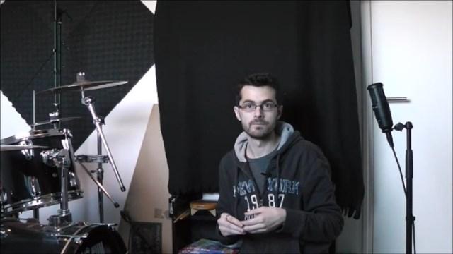 Enregistrer la batterie - Technique 1 - Micro en Face
