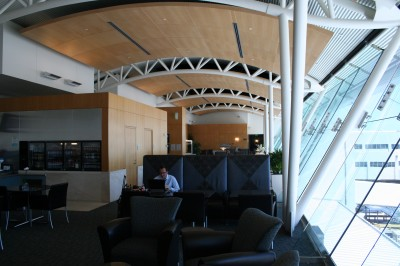 Review American Airlines Flagship Lounge Lax One Mile
