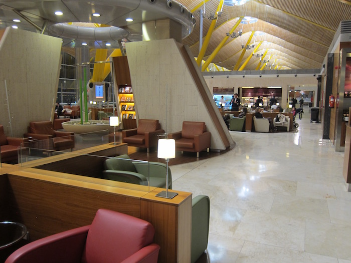 Review Iberia Business Class Lounge Madrid One Mile At