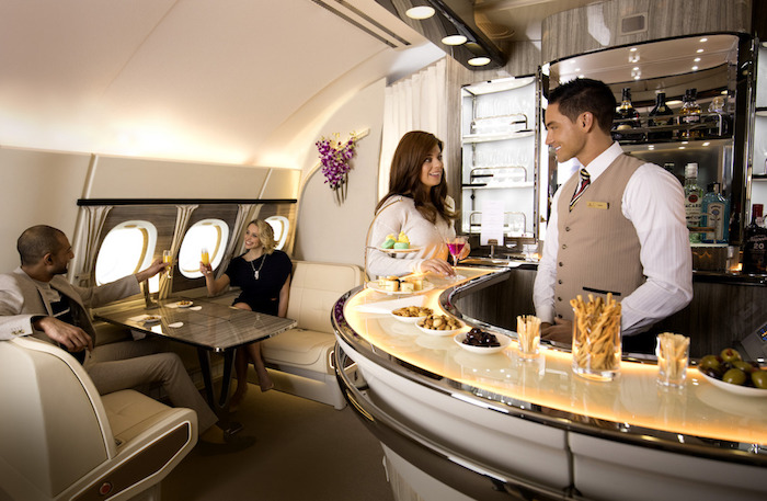 Image result for inflight bar a380