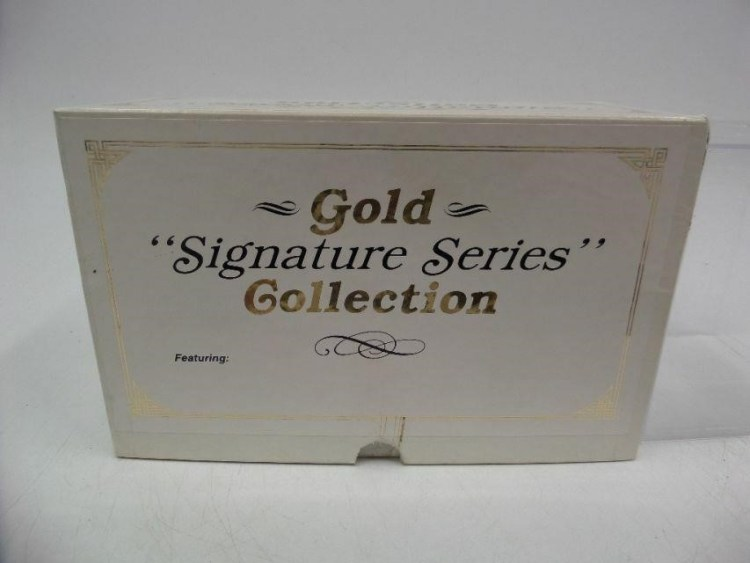 1993 Topps Finest Gold Signature Series Collection