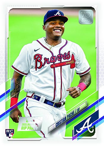 2021 Topps Cristian Pache Rookie Card