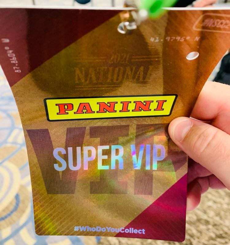 National Sports Collectors Convention Super VIP.