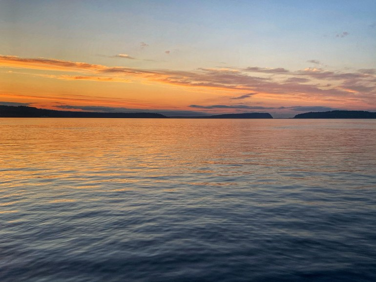 Sunset on the Puget Sound