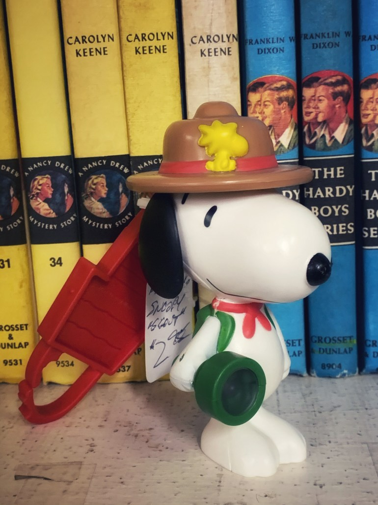 Snoopy:  An Afternoon of Antiques in Snohomish, Washington