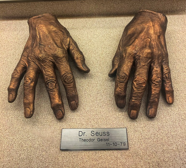 Dr. Seuss:  The Hand Collection at Baylor Medical Center in Dallas, Texas