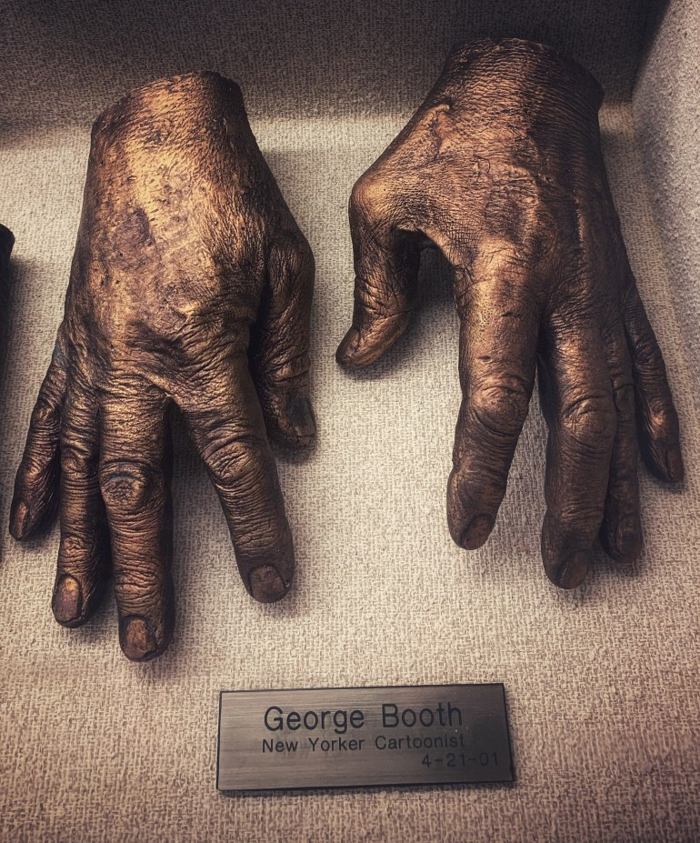 George Booth, New Yorker Cartoonist:  The Hand Collection at Baylor Medical Center in Dallas, Texas