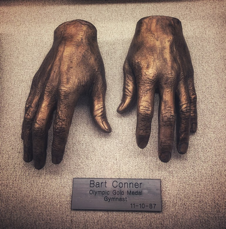 Bart Conner, Olympic Gold Medal Gymnast:  The Hand Collection at Baylor Medical Center in Dallas, Texas