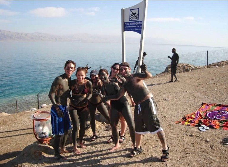 At the Dead Sea in Israel, Spring 2006
