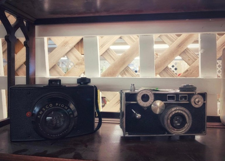 Vintage Cameras:  An Afternoon of Antiques in Snohomish, Washington