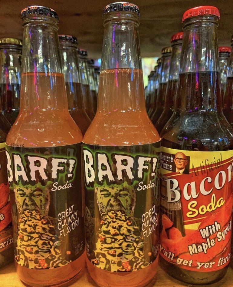 Barf Soda at Rocket Fizz in Portland, Oregon