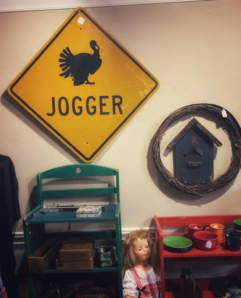 Jogger:  An Afternoon of Antiques in Snohomish, Washington