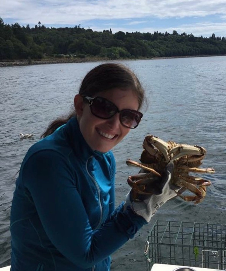 Crabbing on the Puget Sound