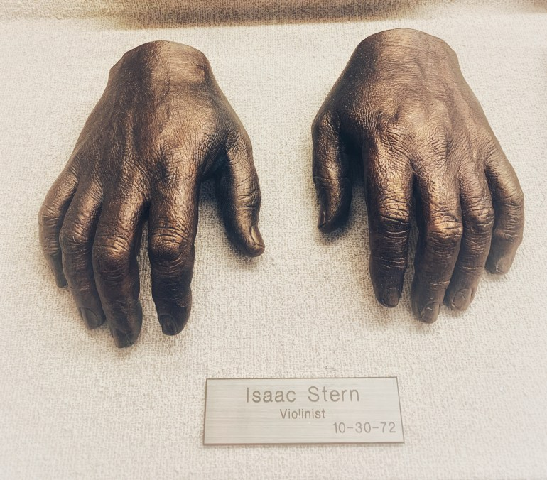 Isaac Stern: The Hand Collection at the Baylor University Medical Center in Dallas, Texas