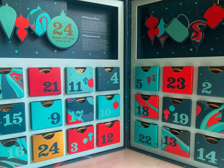 David's Tea Advent Calendar, 2020