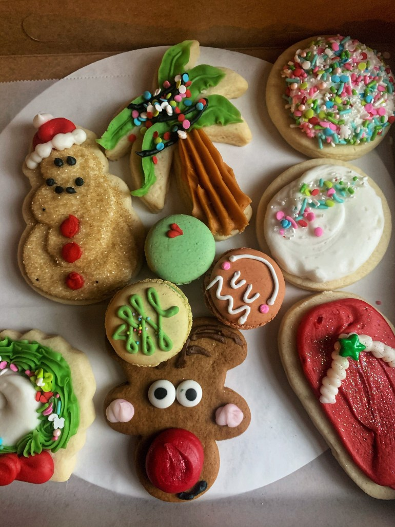 Christmas Confections: Adorable Christmas Sugar Cookies from Sweet Themes Bakery in Kent, Washington
