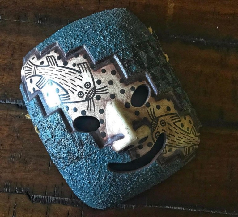 Brought Home from Peru: A Mask from Lima