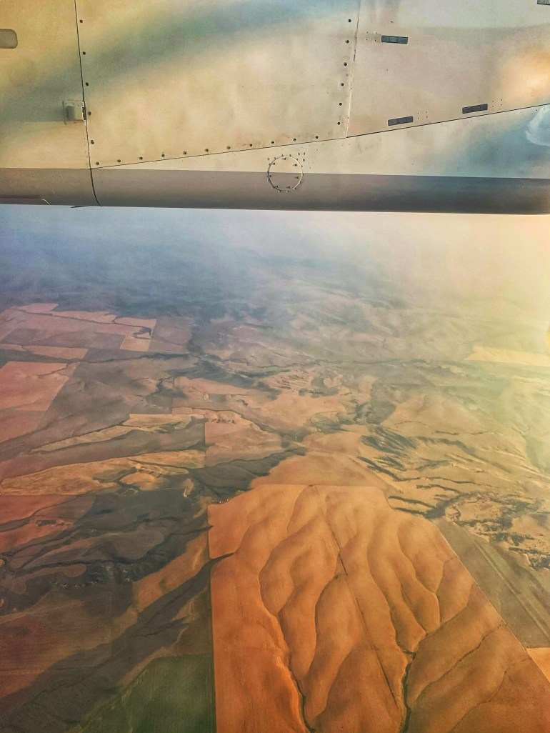 2020 in Review: Flying Home from Bozeman, Montana