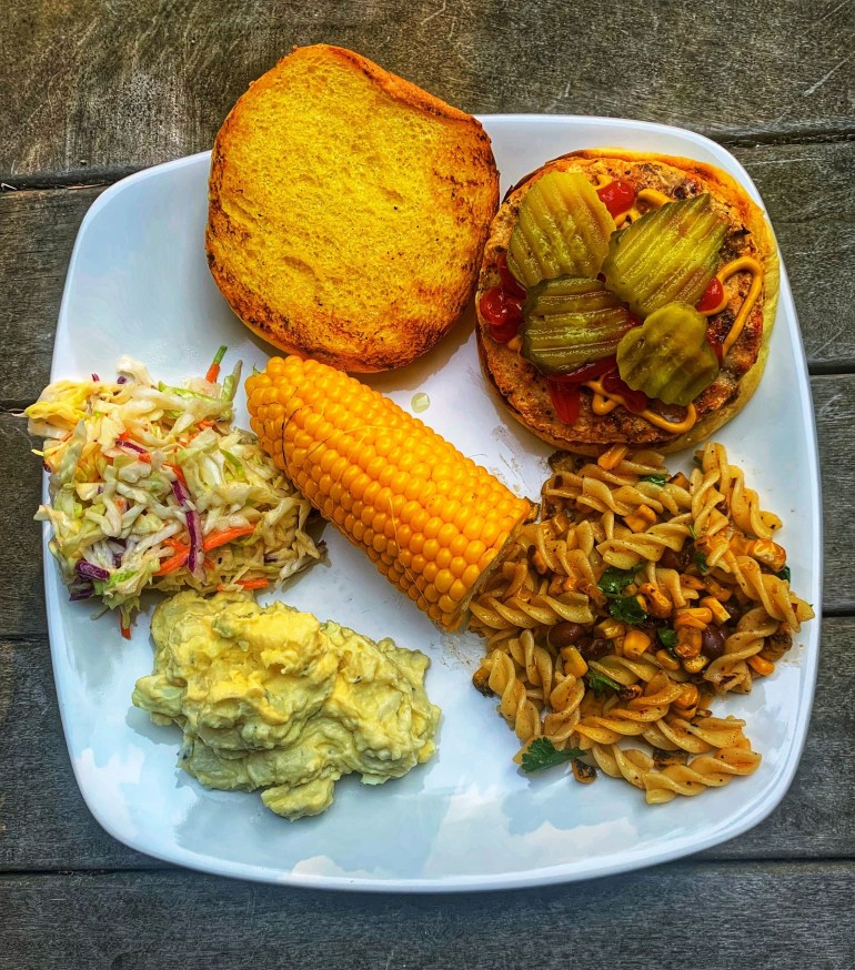 Fourth of July Cook Out Plate
