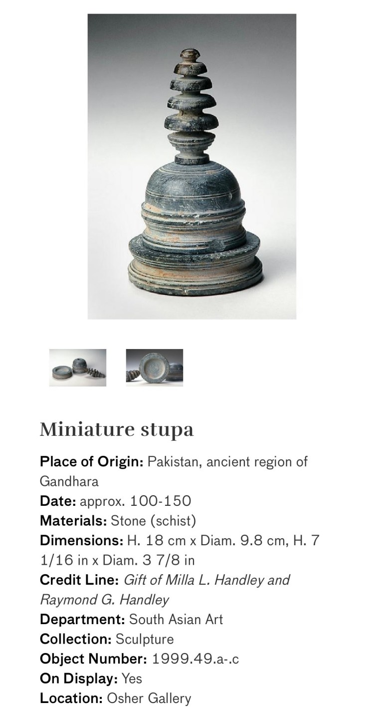 Miniature Stupa: Touring Art Museums During Covid: Divine Bodies at the Asian Museum of Art in San Francisco