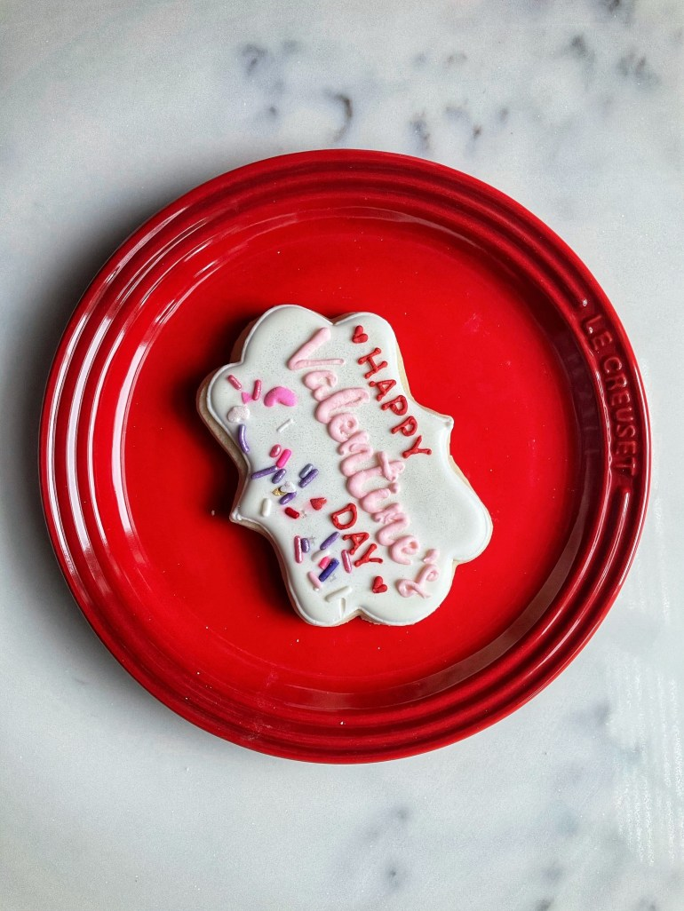 Delightful Valentines Day Cookies from Sweet Themes Bakery in Kent, Washington