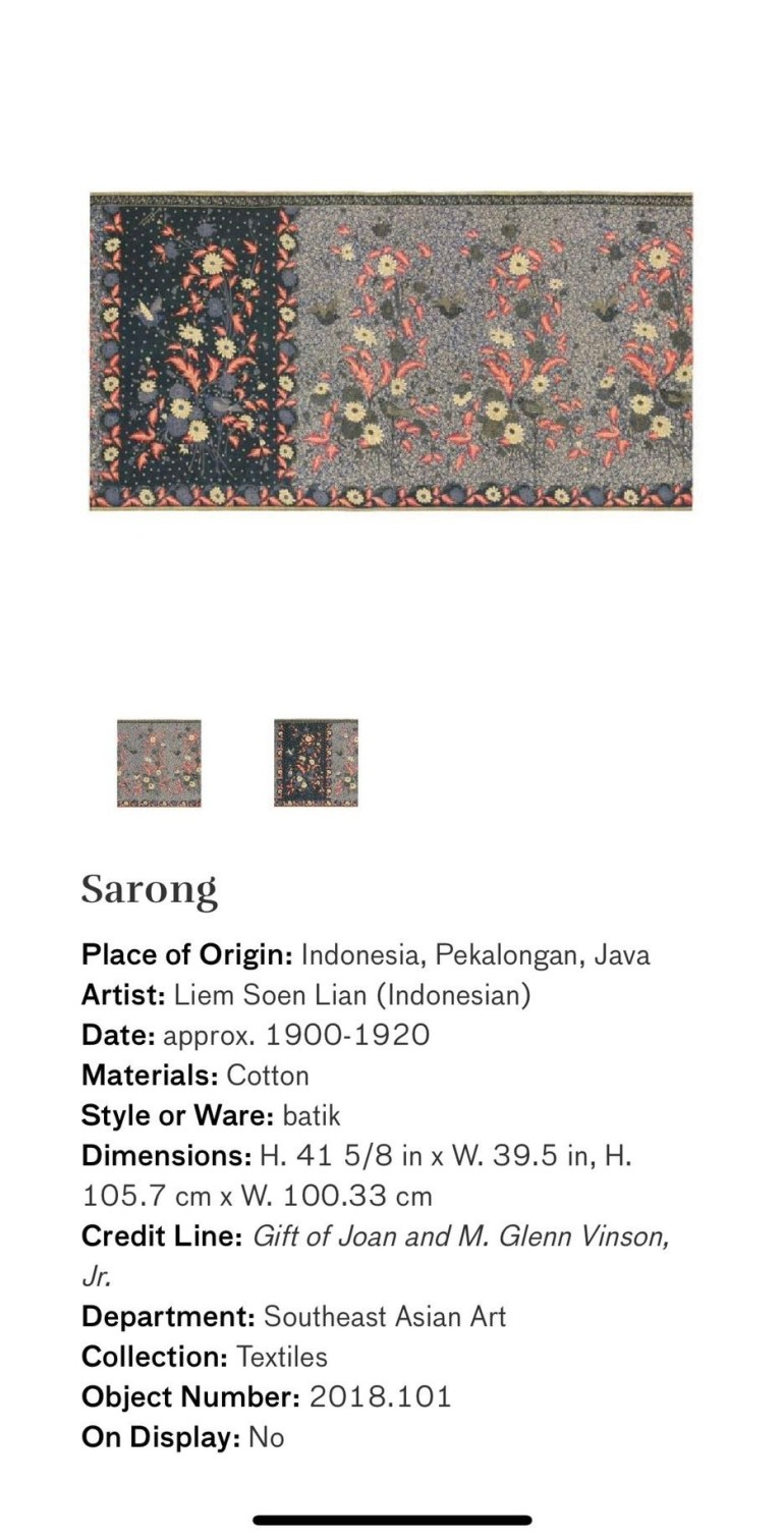 Sarong: Touring Art Museums During Covid: Asian Art Museum Masterpieces at the Asian Museum of Art in San Francisco
