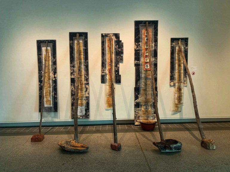 "Brooke Atherton's ""Mothers and Daughters"" at the Yellowstone Art Museum in Billings, Montana"